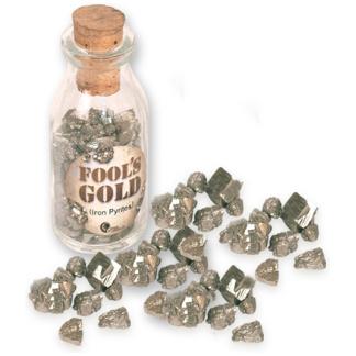 Fool's gold bottle