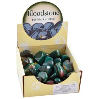 Bloodstone tumbles stones