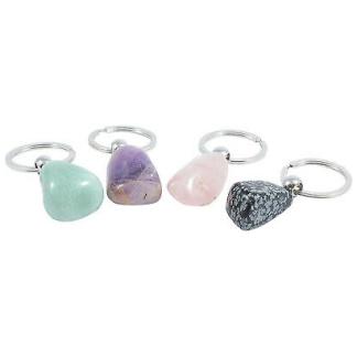 Gemstone keychain