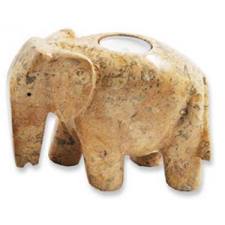 Elephant Tealight candle holder