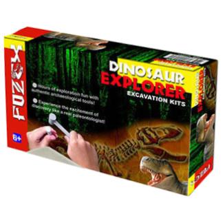 Dinosaur Excavation kit box