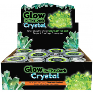 Glow crystal display