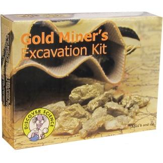 Gold miners excavation kit