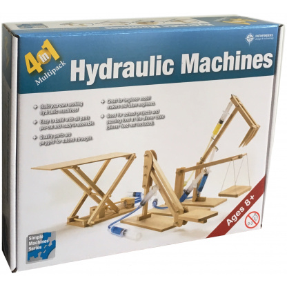 Hydraulic machines box