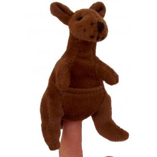 Kangaroo finger puppet
