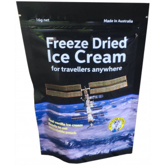 Freeze Dried ice cream pouch
