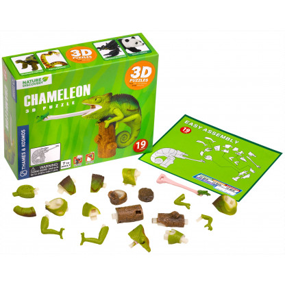 Chameleon 3D kit contents