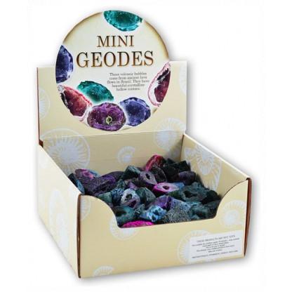Display box of mini geodes