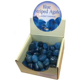 Blue Striped Agate