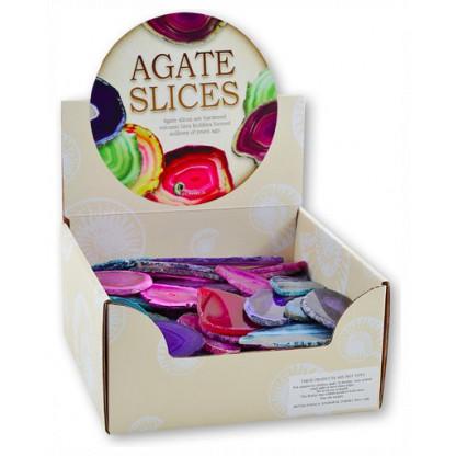 Agate Slice display box