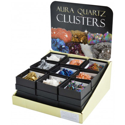 Aura Quartz cluster display