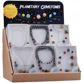 Planetary Necklace display