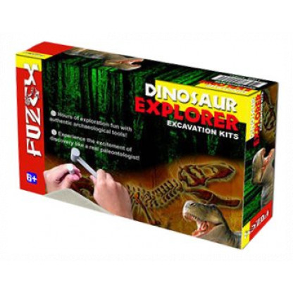 Dinosaur Excavation kit box