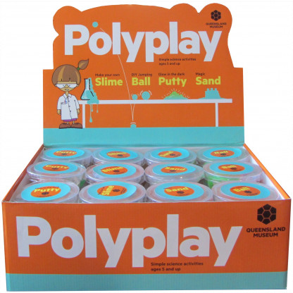 4990 1 Poly Play is a series of 4 different experiments exploring polymers.