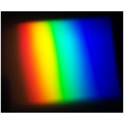 5013 1 This prism is made using optical glass and will demonstrate that light is made up of many colours.
