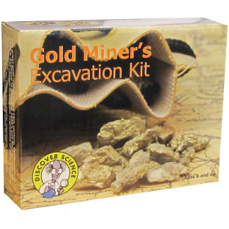 Gold miners excavation kit