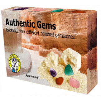 Authentic Gems excavation kit