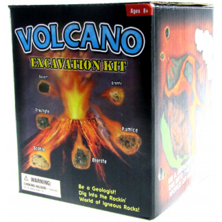 Volcano excavation kit