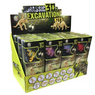 Jurassic 3D Excavation display box