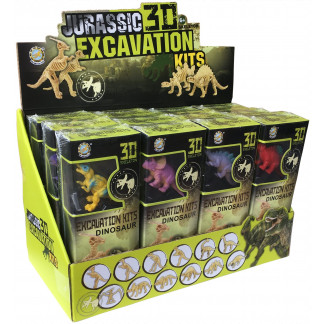 Jurassic 3D Excavation display box