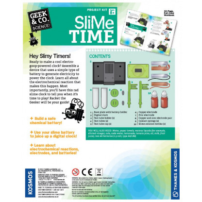 Slime Time back of box