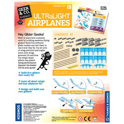 Ultralight planes back of box