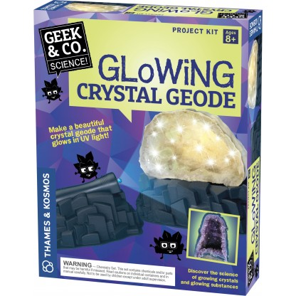 Glowing Crystal Geode box