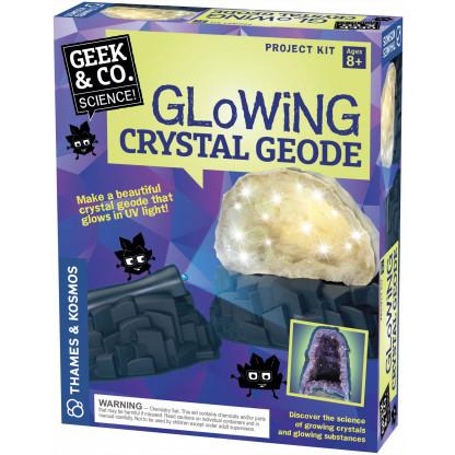 Glowing Crystal Geode box
