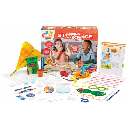 "567001 1 <p class=""p1"">Stepping with Science begin a lifetime of scientific investigation and understanding with 25 fun experiments.</p>"
