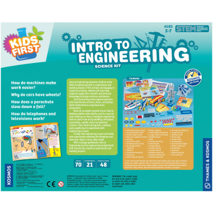 Intro to engineering back of box
