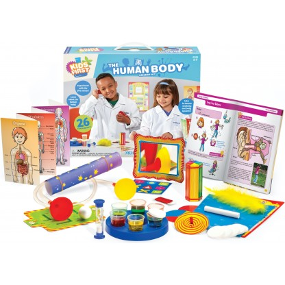 Human Body science kit contents