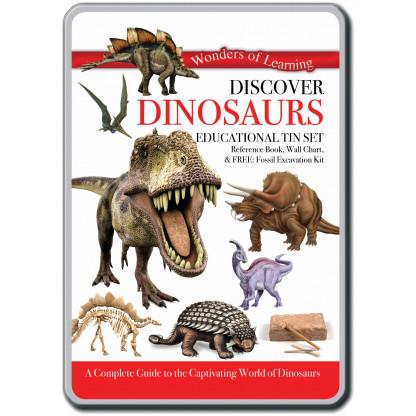 Discover Dinosaurs tin