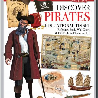 Discover Pirates tin set