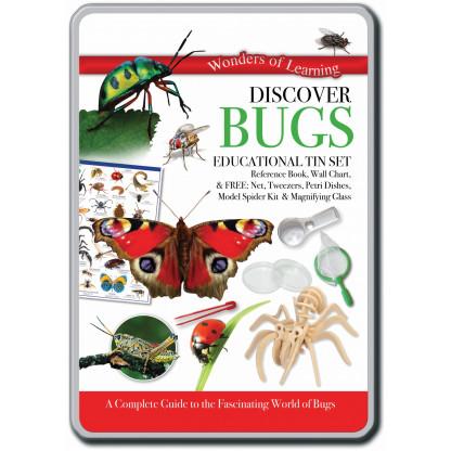 Discover Bugs tin set