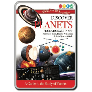Discover Planets tin set