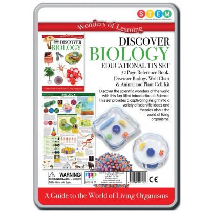Biology back of tin