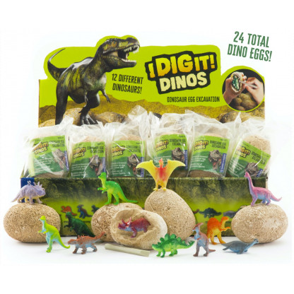 I Dig It dinos with open eggs