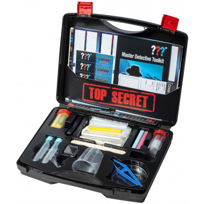 Master Detective Toolkit Open case