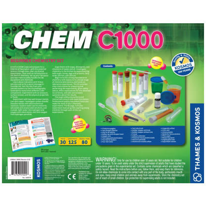 Chem C1000 back of box