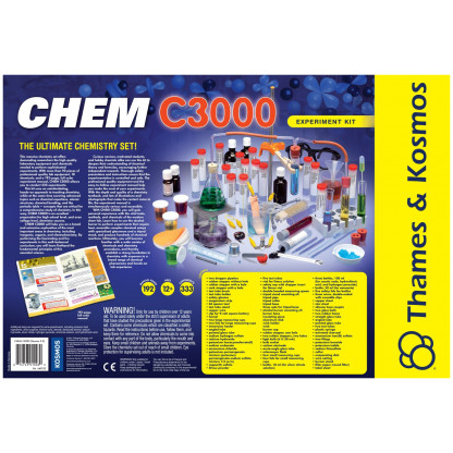 Chem C3000 back of box