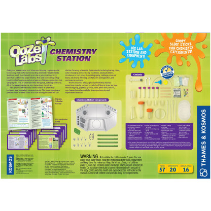 Ooze Labs Chemistry Station back of box