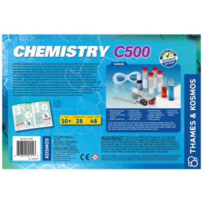 Chemistry C500 back of box