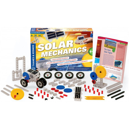 """665068 1 <p class=""""p1"""">Solar Mechanics Science kit allows you to build more than 20 solar-powered models to learn about how solar cells convert energy from sunlight.</p>"""