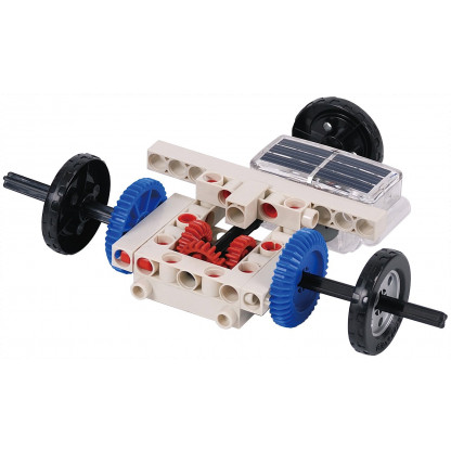 """665068 solarmechanics model 04 <p class=""""p1"""">Solar Mechanics Science kit allows you to build more than 20 solar-powered models to learn about how solar cells convert energy from sunlight.</p>"""
