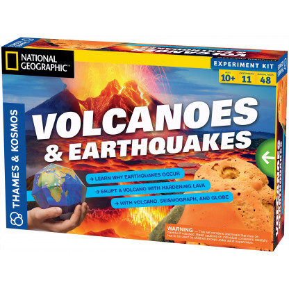 Volcanoes and Earthquakes box