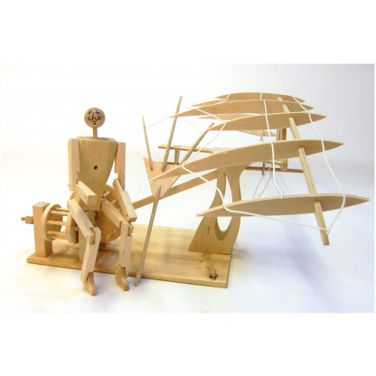6704 4 scaled Leonardo da Vinci developed concepts for a human powered flying machine called an ornithopter.
