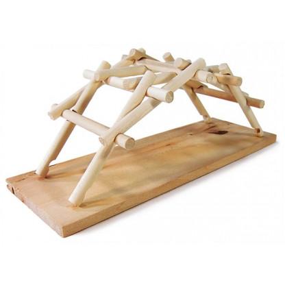 da vinci wooden bridge