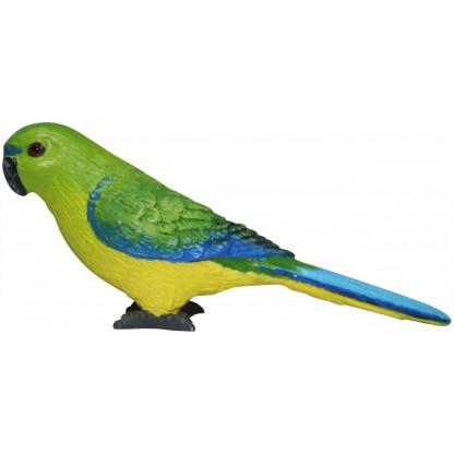 Orange-Bellied Parrot figurine