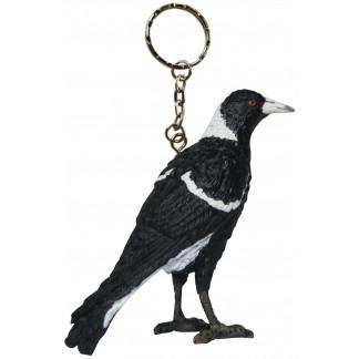 Magpie keychain