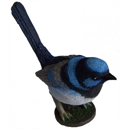 Blue Wren figurine